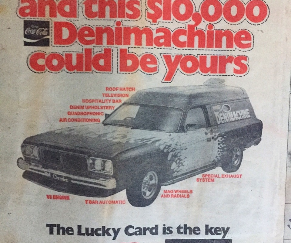 Article image for Whatever happened to the Denimachine?