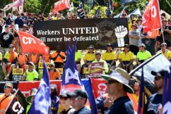 Penalty Rate Protests in Brisbane