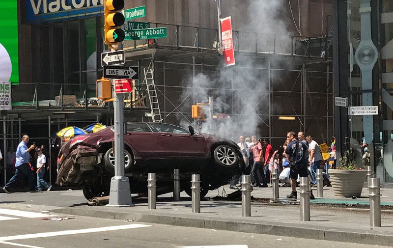 Article image for Horrifying car rampage in New York
