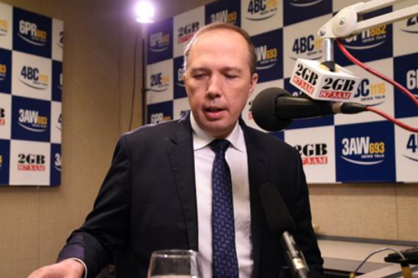 "Article image for Peter Dutton: ""You can't have a double agent in the Australian parliament"""