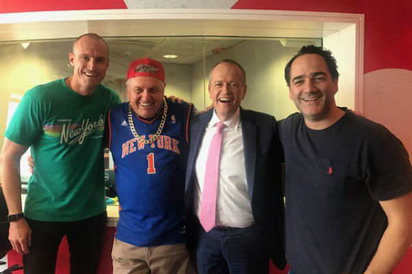 Article image for Ray's rap battle with Bill Shorten