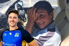 Ray Hadley and Eels star Clint Gutherson pull off the ultimate surprise