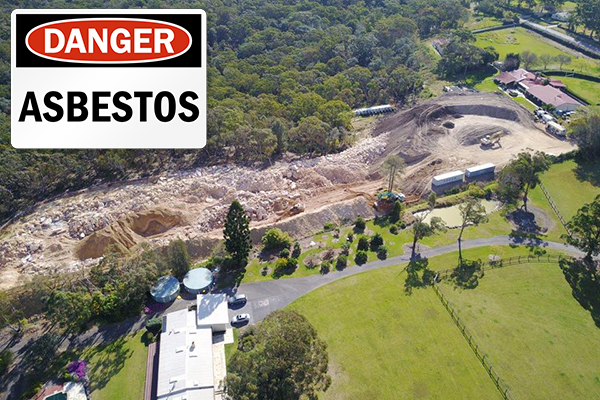 Article image for Further allegations against asbestos dump owners