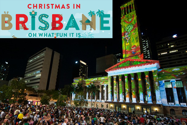Article image for Brisbane Christmas lights switched on this Friday