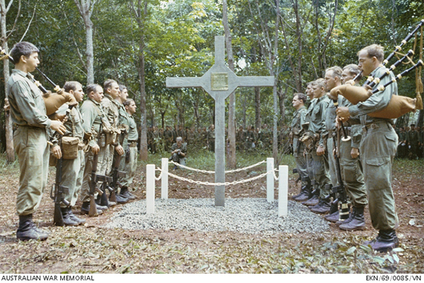 Article image for Vietnam War cross finally returned to Australian hands