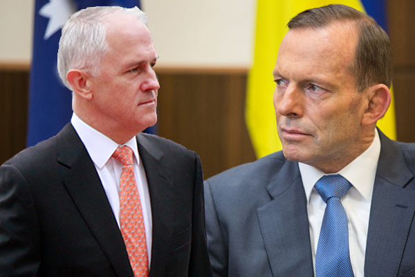 Article image for Tony Abbott hits back at Turnbull