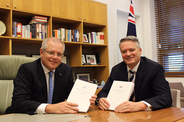 Article image for Ross Greenwood grills Treasurer Scott Morrison on MYEFO