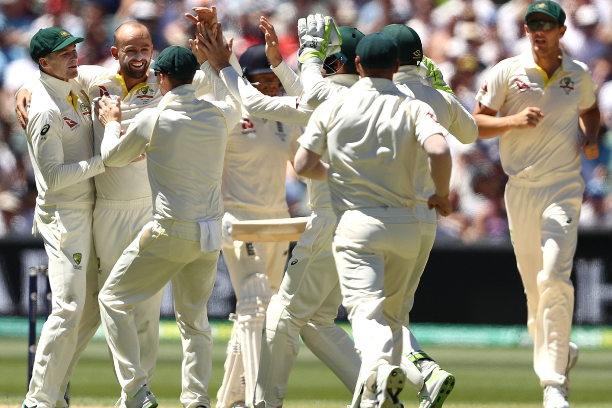 Article image for Australia claims 2-0 lead in the Ashes