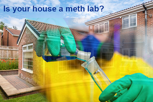 Article image for What to do if your house was a meth lab