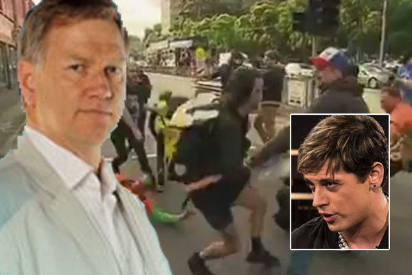 Article image for 'It was nasty and I didn't like it': Bolt considers walking out on Milo Yiannopoulos