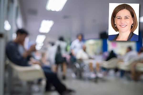 Article image for Frecklington says government 'has no clue when it comes to health systems'