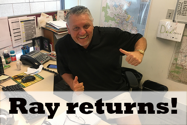 Article image for Ray Hadley is back and ready to rip in