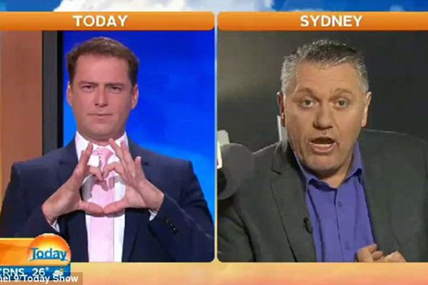 Article image for Karl Stefanovic calls in with a hilarious traffic report