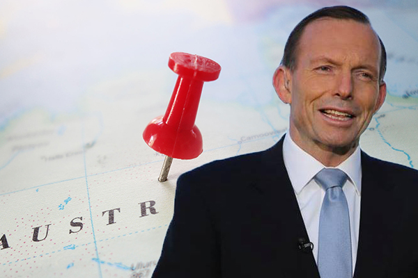 Article image for Tony Abbott defends Australia Day: 'Why are these people so embarrassedabout our country?'