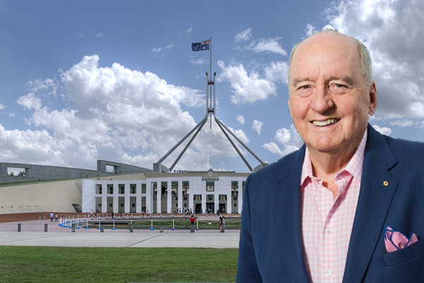 Article image for Politicians run for the hills as Alan Jones arrives in Canberra