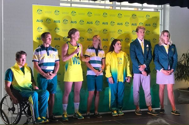 Article image for Here are the new uniforms for this year's Commonwealth Games