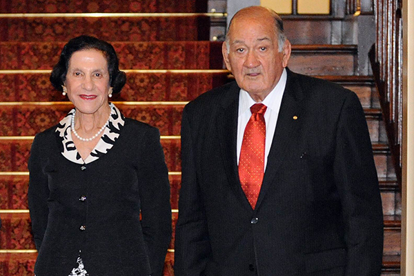 Article image for Tributes flow for Sir Nicholas Shehadie