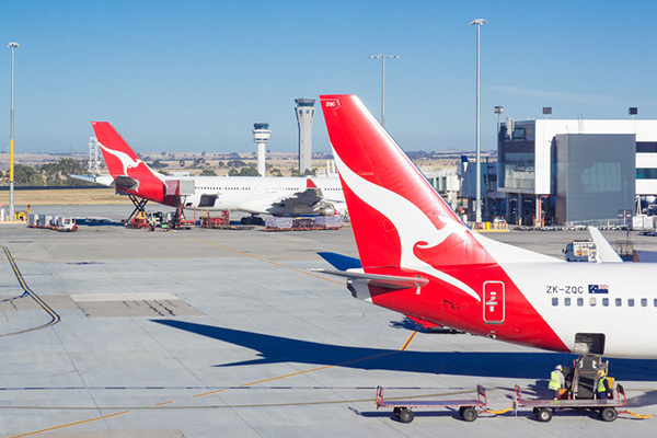 Article image for Qantas boasts record half-yearly profit
