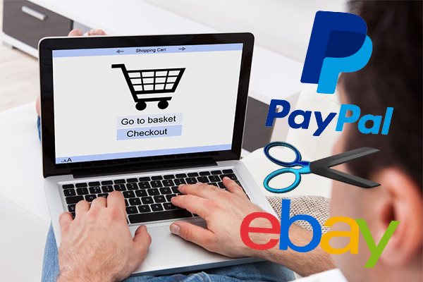 Article image for Online retail giant eBay cuts ties with PayPal