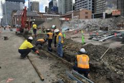 Historical discovery made by Queen's Wharf casino workers