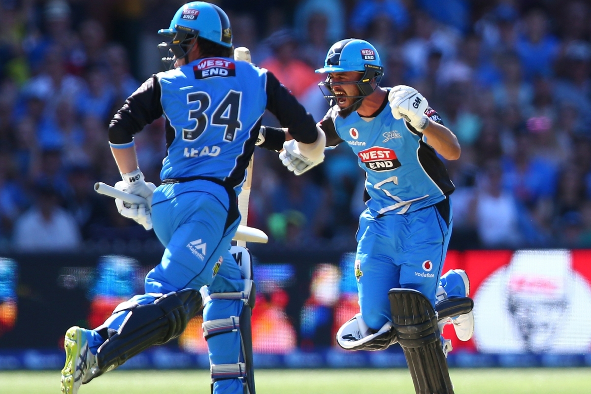 Article image for Weatherald century sees Strikers to first BBL title