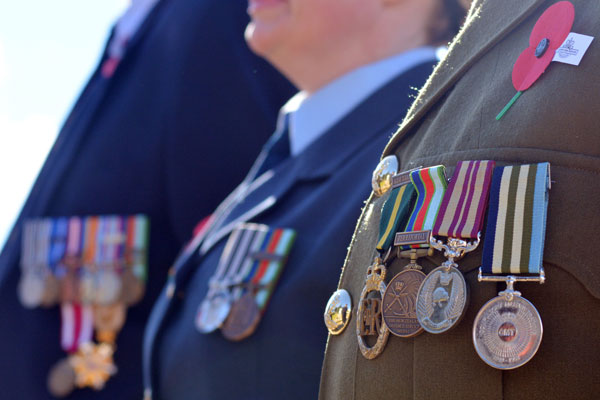 Article image for Incredible detective work leads to stolen war medals being returned 25 years on