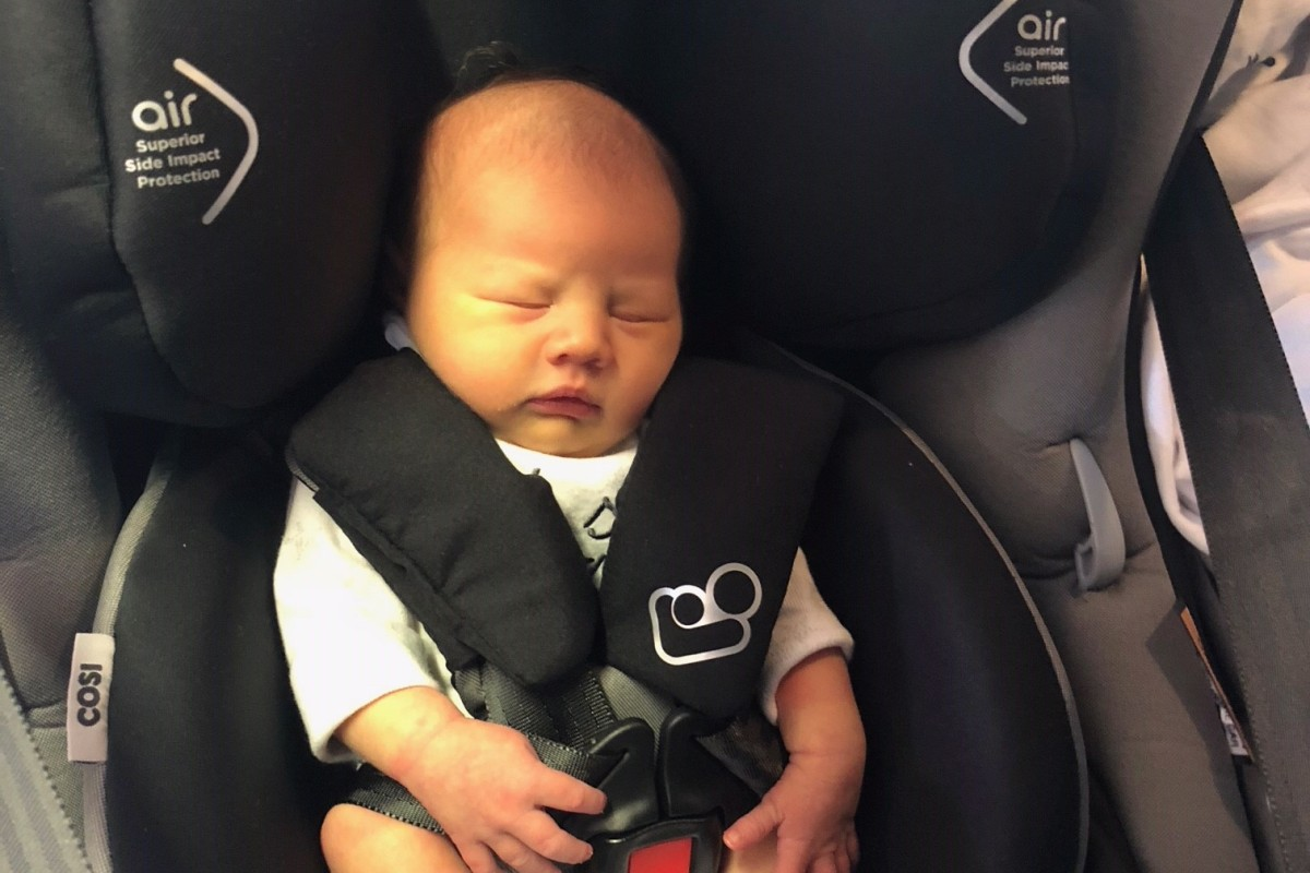 Article image for Ray's granddaughter Ava Marie's first car ride
