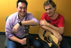 Ian Moss rocks his new self-titled album
