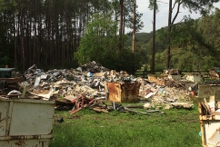 Illegal dumping puts town's drinking water at risk