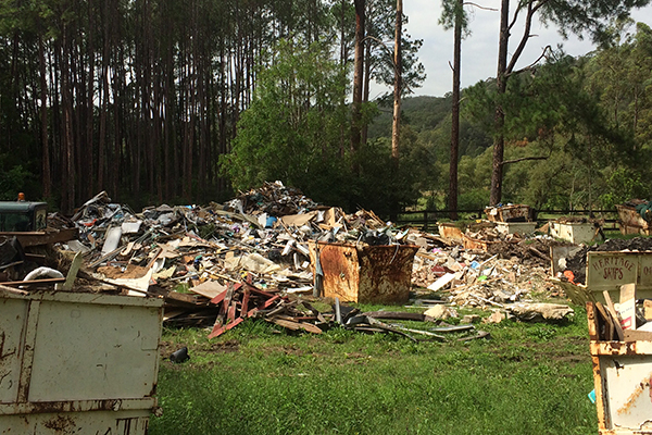Article image for Illegal dumping puts town's drinking water at risk