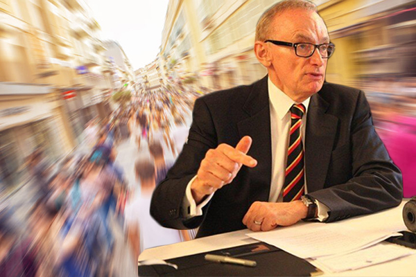 Article image for Bob Carr demands action on immigration but admits he did nothing while in government
