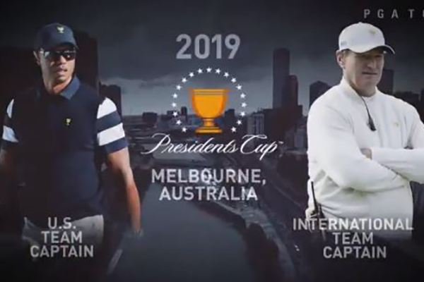 Article image for It's official! Tiger Woods is coming to Australia
