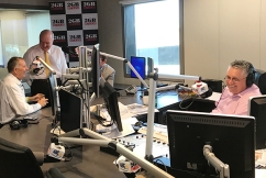 VIDEO | Radio legends takeover Ray's show