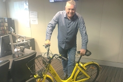 Ray's share bike collection continues to grow