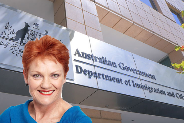 Article image for Pauline Hanson: Immigration debate finally getting the attention it deserves
