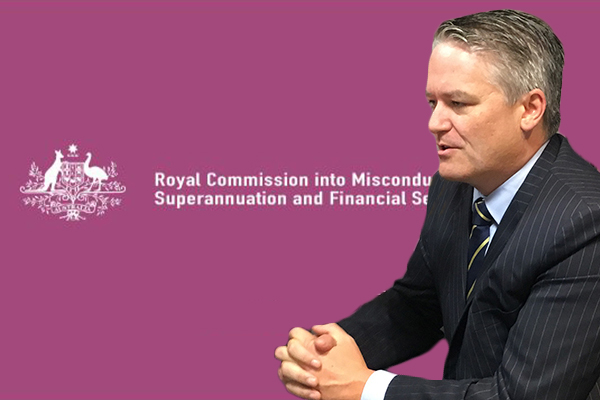 Article image for Finance Minister will consider extending the banking Royal Commission