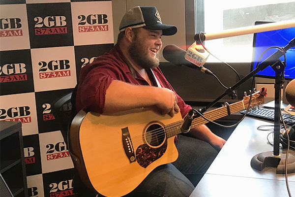Article image for From local choir singer to award-winning country music artist, Brad Cox performs live