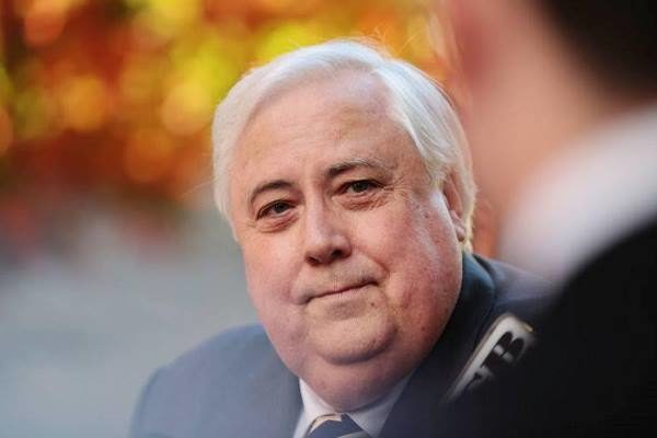Article image for Clive Palmer hits out, claims 'government agenda' behind charges