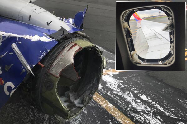 Article image for Woman killed after being partially sucked out of plane window