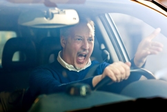 Chris loses it on aggressive drivers, 'They're waiting to pounce on their prey'