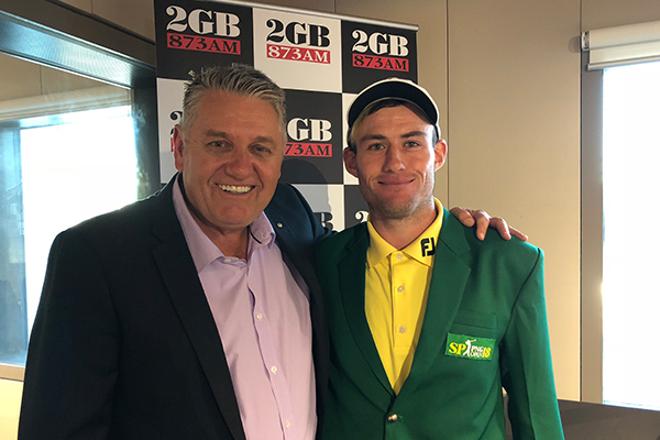 Article image for 'Remember where you heard him first', Australia's next golfing superstar