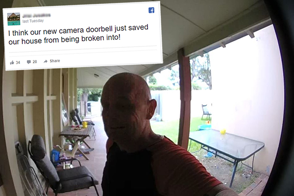 Article image for 'Smart doorbell' saves mum and daughter from home invasion