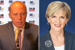 Dutton rejects claims he's feuding with Julie Bishop