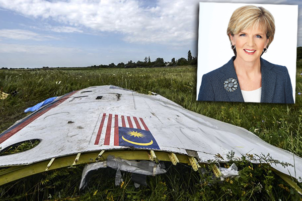 Article image for Julie Bishop: Australia is holding Russia responsible for downing of flight MH17