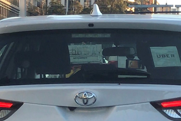 Article image for Uber XXX: Driver caught with peak hour porn