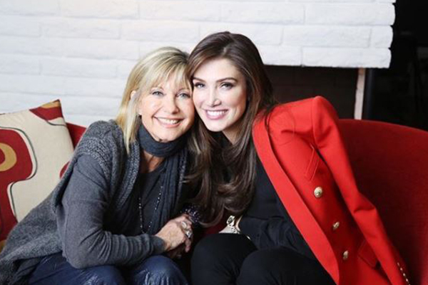 Article image for 'She really inspired me my whole life', Delta Goodrem honours childhood hero