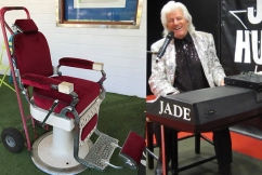 Rock n' Roll singer Jade Hurley is selling a famous piece of memorabilia