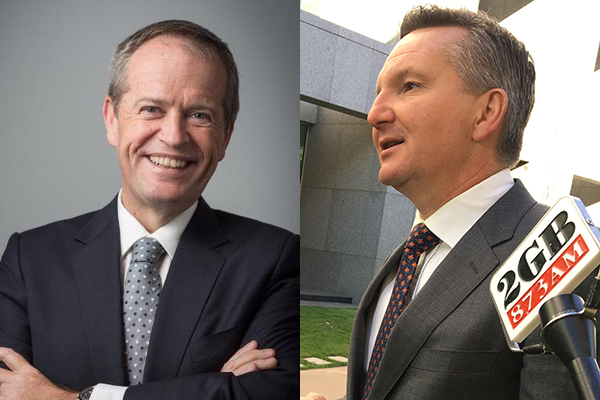 Article image for Shadow Treasurer doesn't deny Bill Shorten's tax plan was a captain's call