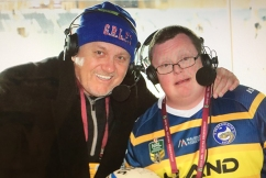 Ray helps surprise a very special NRL fan