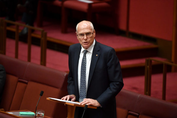 Article image for Senator Jim Molan left in an unwinnable position following Liberal Senate preselection